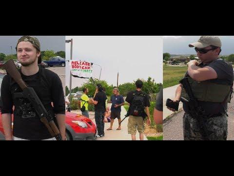 Mass Open Carry/Protest - Elbert County Sheriffs Department |Kiowa, Co  Pt   3|
