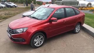 Подробно О САЛОНЕ новой ЛАДА ГРАНТА FL 2018 | Car interior LADA GRANTA FL 2018