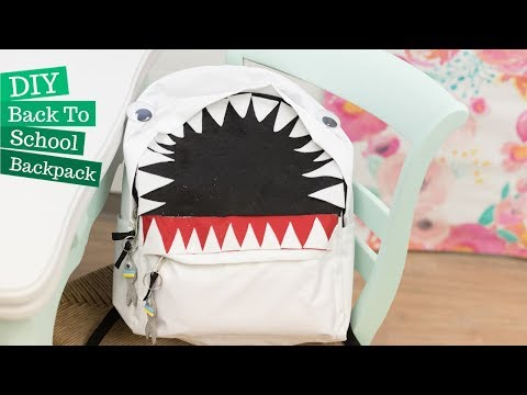 DIY Back To School Backpack