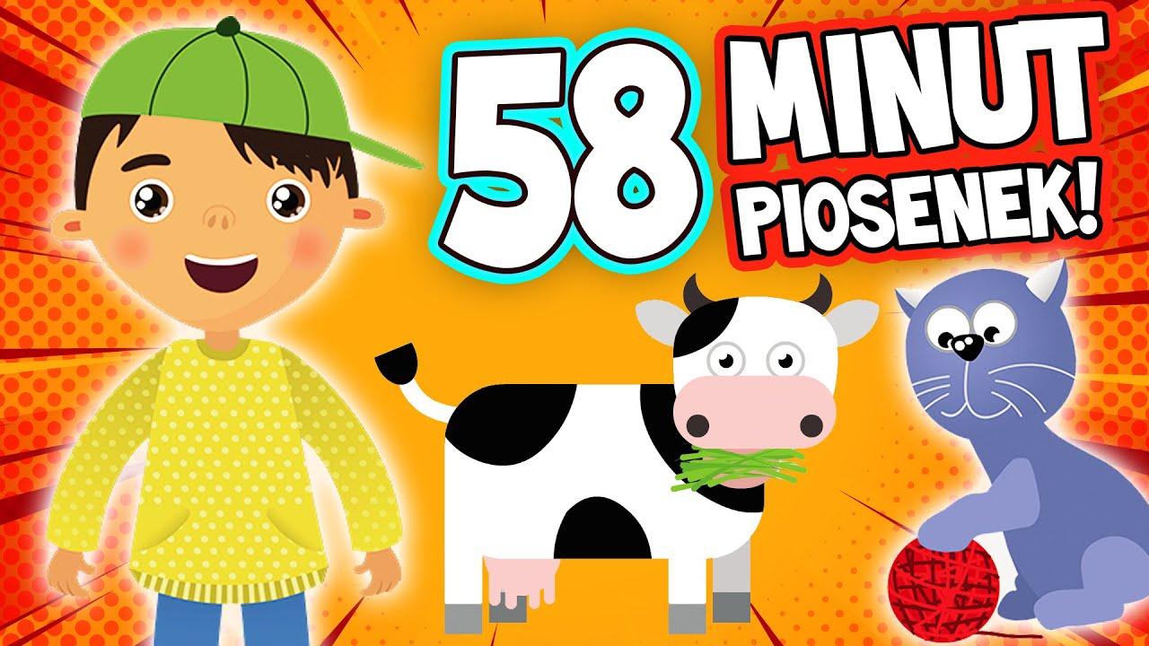 MIX PIOSENEK - TYLKO NA URWISOWIE | Najlepsze piosenki dla dzieci ⭐⭐⭐⭐⭐