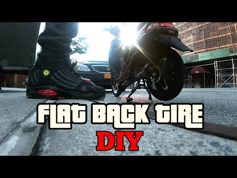 how-to-fix-your-own-back-tire-flat-on-an-ebike-like-a-man-diy---quietboymusik