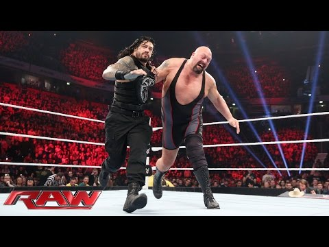 Roman Reigns Vs. Big Show – WWE World Heavyweight Championtitel Turnier: Raw – 9. November 2015