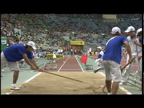 Men's Long Jump - World Championships Osaka 2007