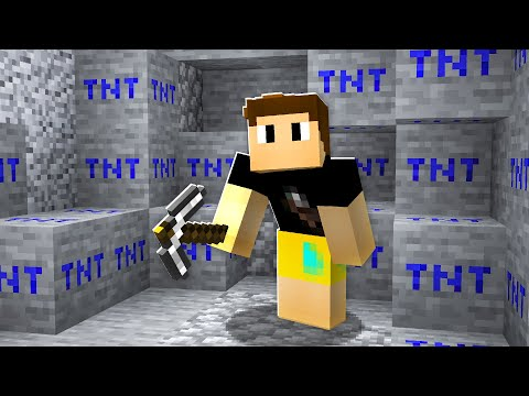 Minecraft But Every BLOCK Is TNT..