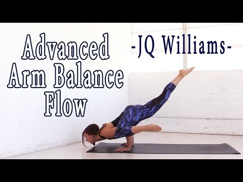 Advanced Arm Balance Yoga Flow with JQ