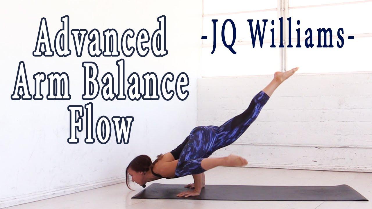Advanced Arm Balance Yoga Flow With Jq Youtube