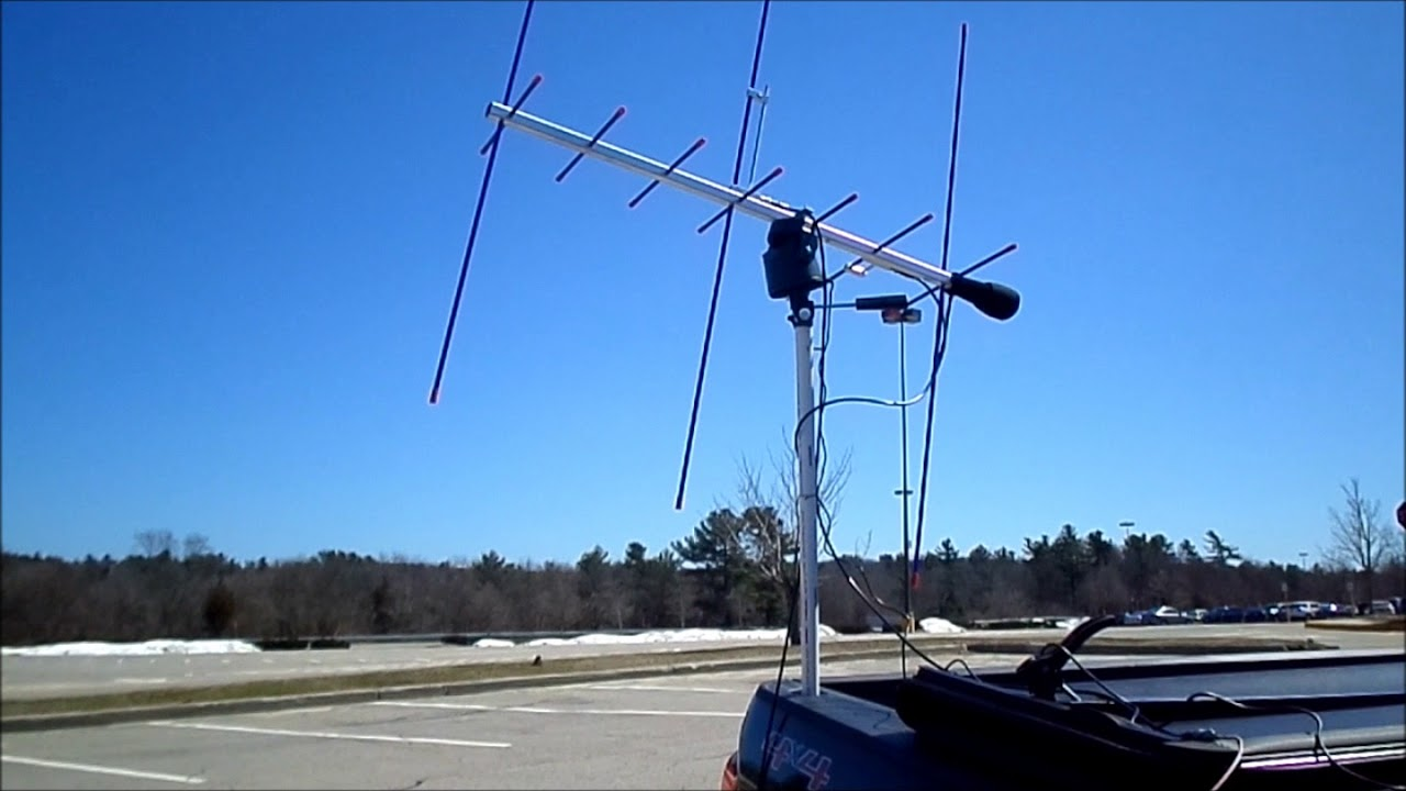 The K3RRR El Cheapo AZ-EL Rotor System for Ham Radio AMSAT Birds