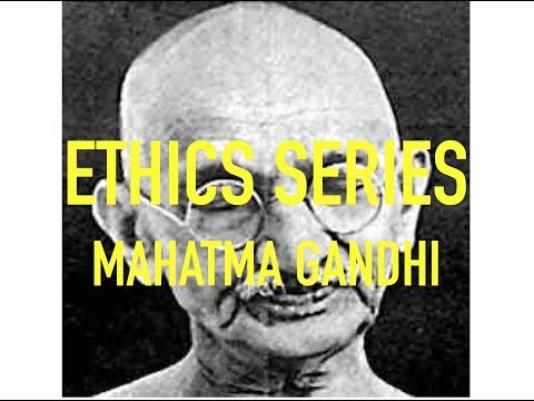 ETHICS SERIES for UPSC Mains || Civil services || IAS   - MAHATMA GANDHI