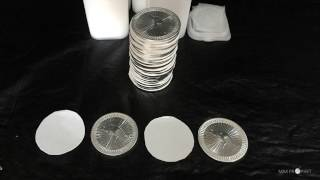 Silver Gold. Looking after your bullion coins without buying capsules.