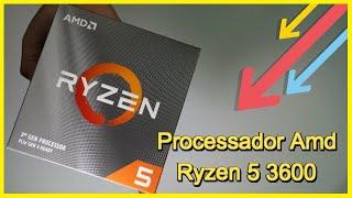 Processador Amd Ryzen 5 3600 Am4 3.6ghz A 4.2ghz