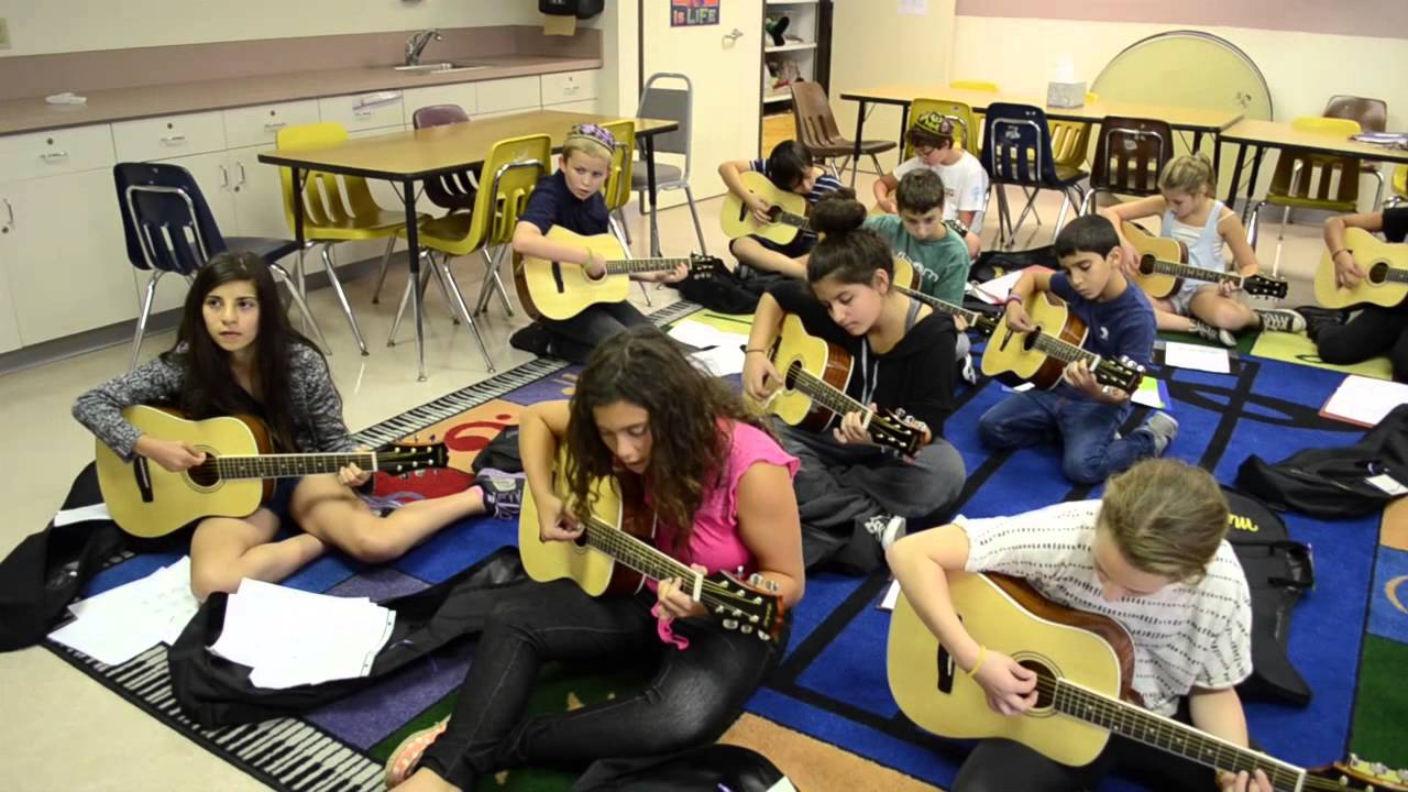 6th Grade Music Class