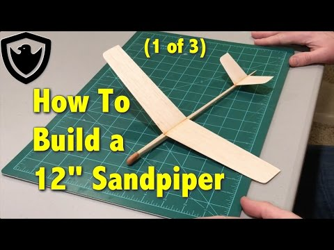 How to Build a Balsa Glider - 12