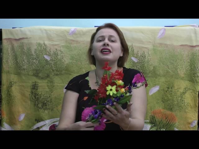 Изображение предпросмотра прочтения – НаталияМорозова читает произведение «Полевые цветы» И.А.Бунина