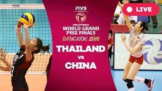 TAPE! ไทย - จีน ( Finals ) : วอลเลย์บอลเวิลด์กรังด์ปรีซ์ 2016 | Thailand - China : WGP 2016