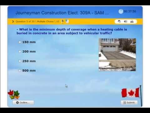 Journeyman Construction Electrician 309A, Practice Exam. ESAT-CEC