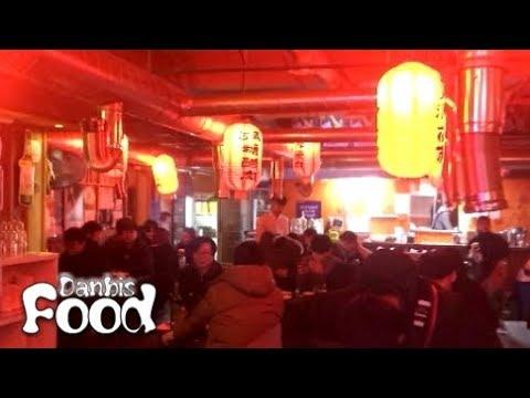홍대 대만야시장 주점, 샤롱빠오,마요새우,가지튀김 술안주 요리 시식기