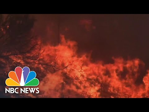 Powerful Winds Spark New Wildfires In California | NBC Nightly News