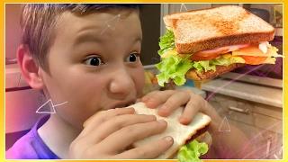 Ну, оОчень вкусный Стейк Сэндвич с горячим сыром 🍔 Cooking SANDWICH challenge How To Make