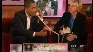 Barack Obama on Ellen: Balancing Family