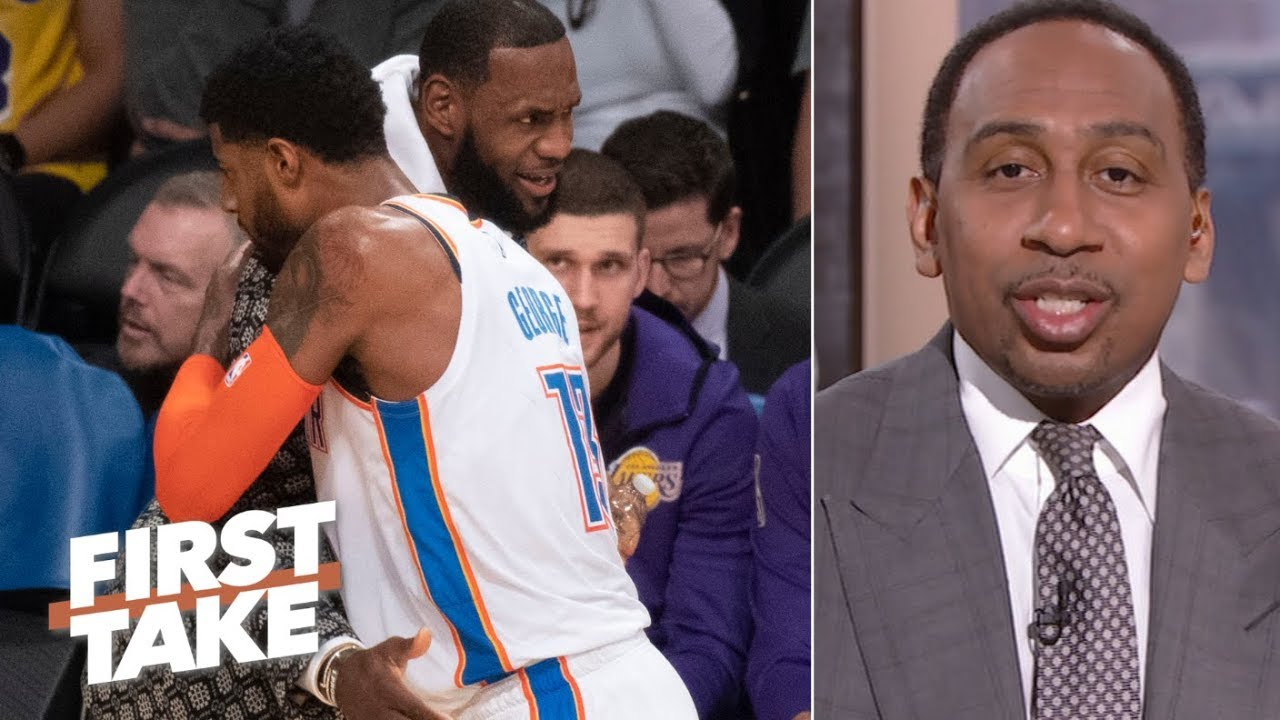 Lakers with Paul George would been 'destined' for conference finals - Stephen A. | First Take