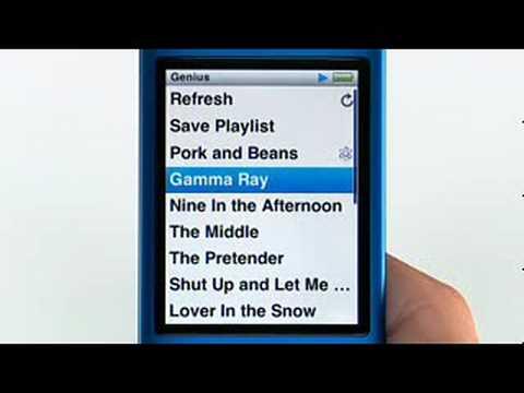 iPod Nano 4th Gen Guided Tour