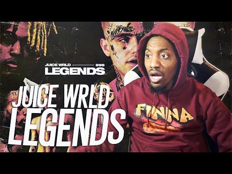 JUICE KNEW SOMETHING WE DIDN'T!   Juice Wrld - Legends (REACTION!!!)