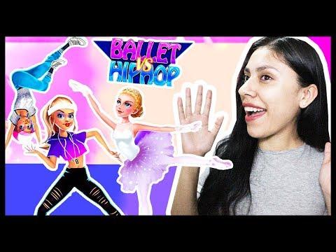 IM A HORRIBLE DANCER! - DANCE WAR: BALLET vs HIP HOP - App Game