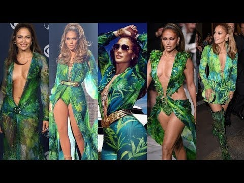 Resultado de imagem para jennifer lopez green dress compilation