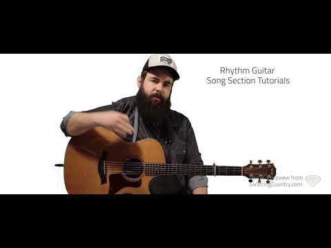 Beautiful Crazy Guitar Lesson - Luke Combs