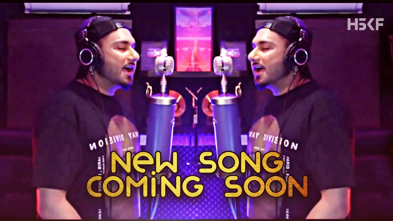 Yo Yo Honey Singh Recording New Song 🔥
