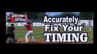 *Hitting & Timing Your Vision* See It Early In The Flight Path  *Hitting *Drills