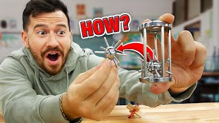 How To Remove The SPIKED Ball From The CAGE!? (Solving The Impossible Cage Puzzle Brain Teaser)