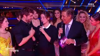 Lucie Lucas dévoile son baby bump sur le plateau de Danse avec les stars