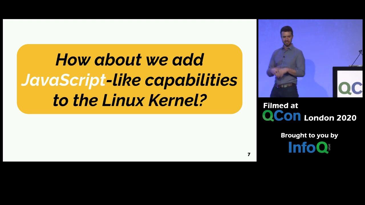 eBPF - Rethinking the Linux Kernel