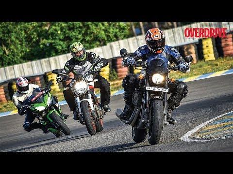 Comparision test: Kawasaki Ninja 650, Ducati Monster 797, H D Street Rod