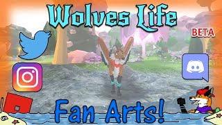 ROBLOX - Wolves' Life Beta v2 - Fan Arts! #31 - HD