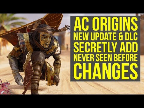 Assassin's Creed Origins Update 1.41 SECRET CHANGES Best Weapon Upgraded & More (AC Origins DLC)