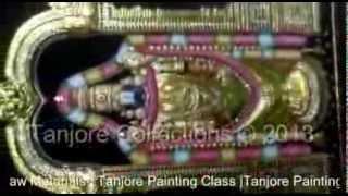 Tanjore painting   Tutorial   DIY   Learn how to make Emboss tanjore painting - Balaji
