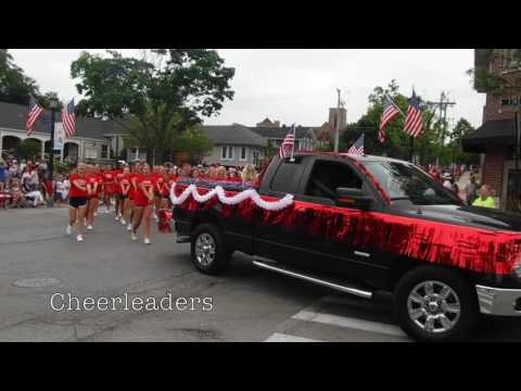 2016 Fourth of July Parade - Hinsdale, IL (7/4/2016)