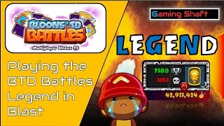 BTD Battles - Battle of legends