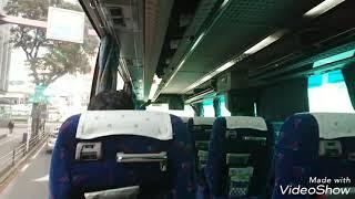 鹿児島~福岡、高速バス桜島号♪南国交通【バスの車窓】