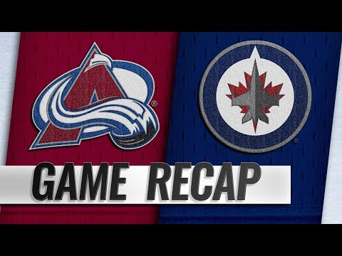 Balanced attack propels Avalanche past Jets, 4-1