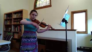 UG SHOWCASE: Cordelia Zahner / Allemande and Gigue from Partita No. 2 by Bach