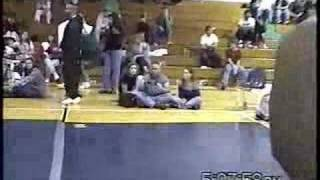 Yves Edwards fights 3 guys in a row - Feb 1998