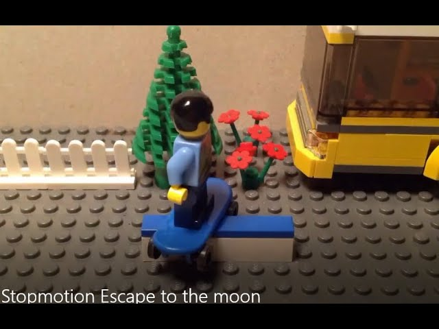 Stopmotion Escape to the moon