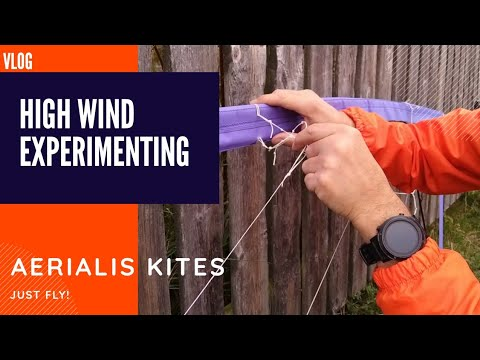 Vlog: More High Wind Experimenting