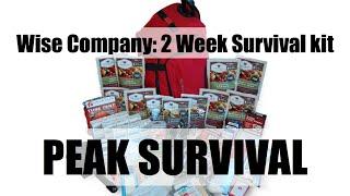 Wise Company: 2 Week Deluxe Emergency Survival Kit