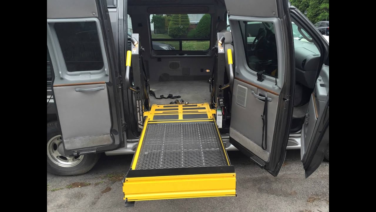 2007 Ford E250 Wheelchair Van With Tuscany Conversion Package