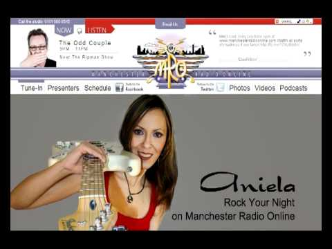 "Aniela - ""Rock Your Night"" (on Manchester Radio Online)"