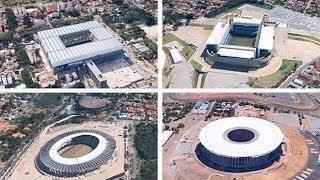 Video World Cup 2014: fly around the stadiums in Brazil download MP3, 3GP, MP4, WEBM, AVI, FLV Agustus 2017